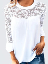 Load image into Gallery viewer, Pamela - Crochet Blouse