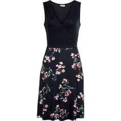Print/Floral Sleeveless Sheath Knee Length Casual/Vacation Dresses