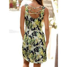 Load image into Gallery viewer, Print/Floral Sleeveless Sheath Knee Length Sexy/Casual/Vacation Dresses