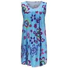 Load image into Gallery viewer, Round Neck Print Tank Dress