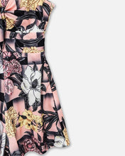 Load image into Gallery viewer, Thin Strap Floral Print Casual Pleated Romper