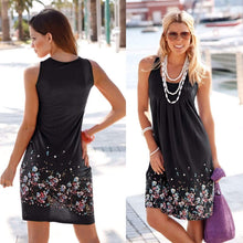 Load image into Gallery viewer, V Neck Floral Casual Dress