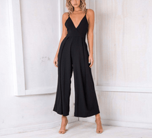 Load image into Gallery viewer, V-neck Sexy Jumpsuit