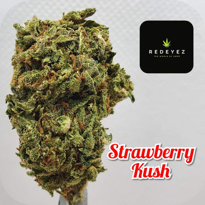 Strawberry Kush - Premium CBD PotPourri Flower 0.2% THC