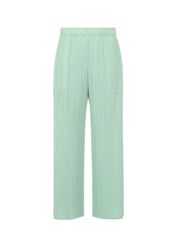 MONTHLY COLORS : APRIL Trousers Smoky Green