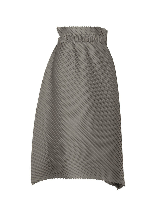 CRT PLEATS Skirt Silver