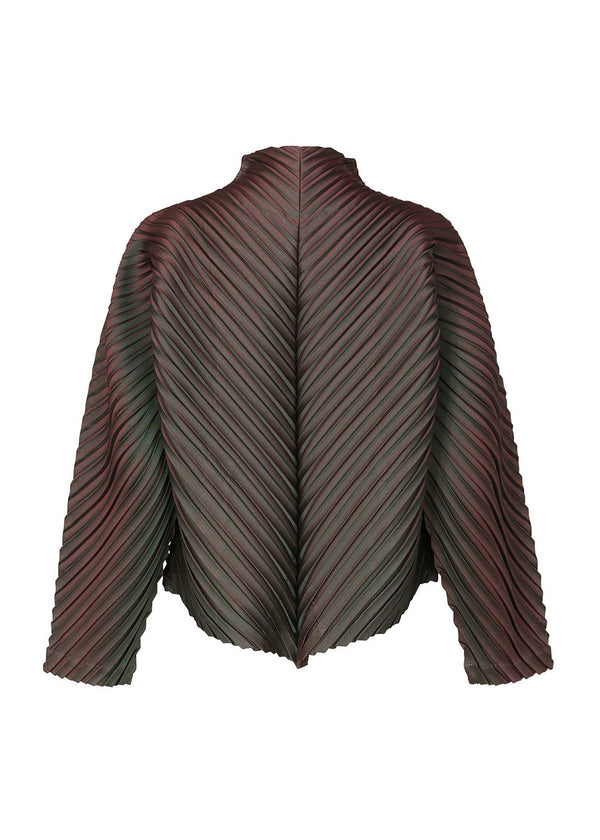 CRT PLEATS Jacket Multi Color