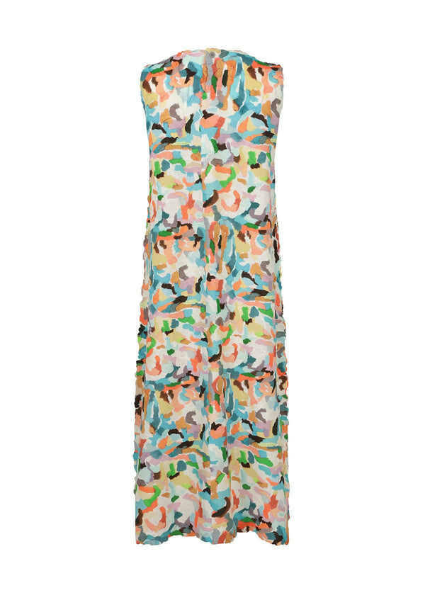 MIXED COLORS CRUSH Dress Multi Color