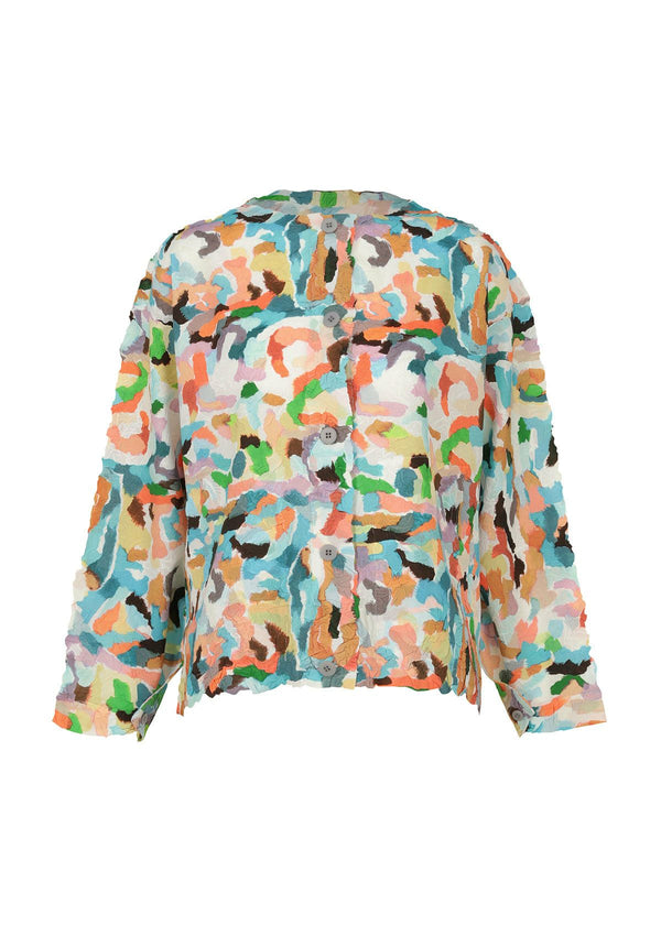 MIXED COLORS CRUSH Jacket Multi Color
