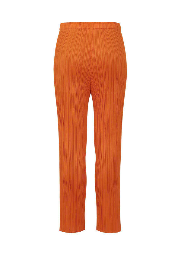 MONTHLY COLORS : MAY Trousers Dark Orange