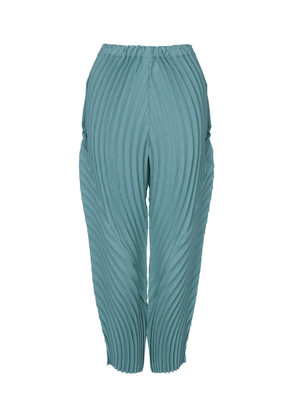 WRAPPED PLEATS Trousers Light Blue