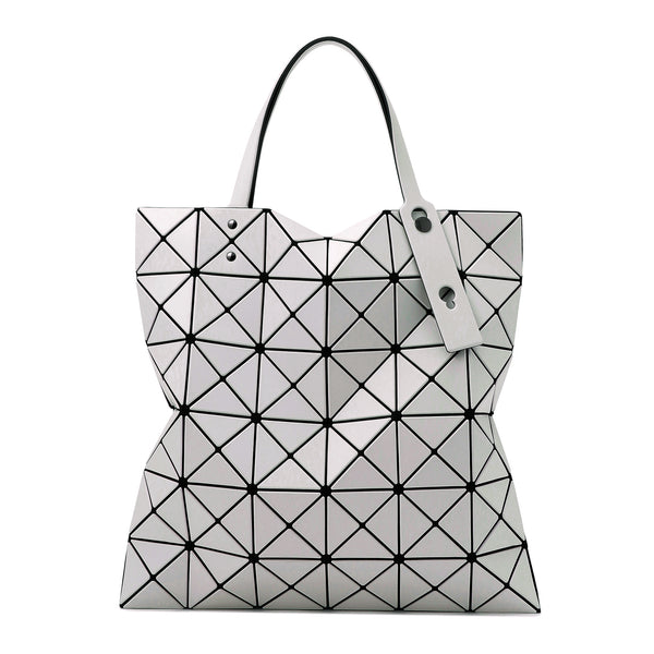 LUCENT MATTE Tote Light Grey