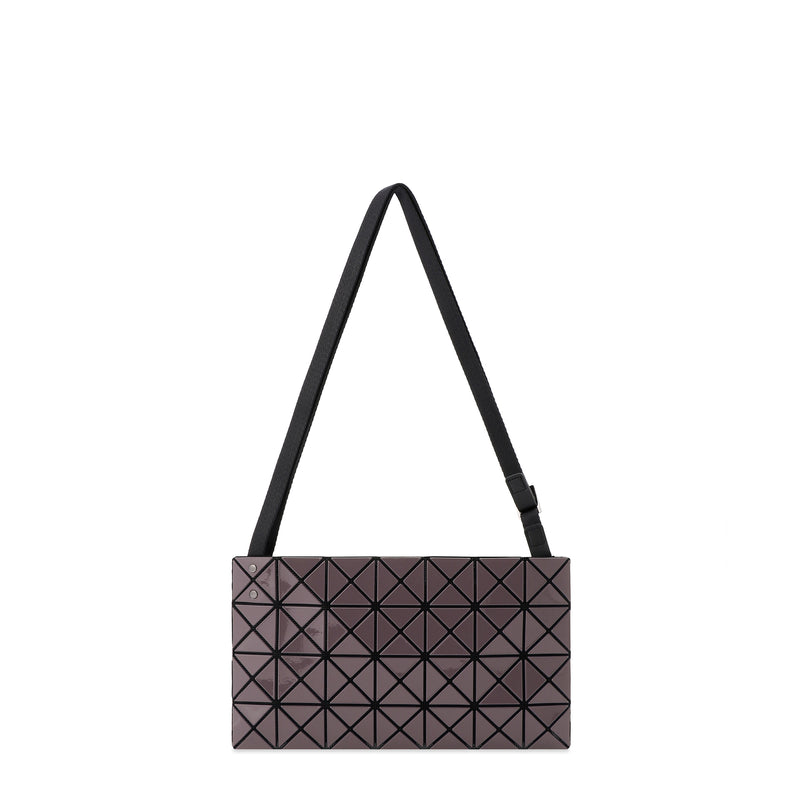 PRISM GLOSS Shoulder Bag Charcoal Grey