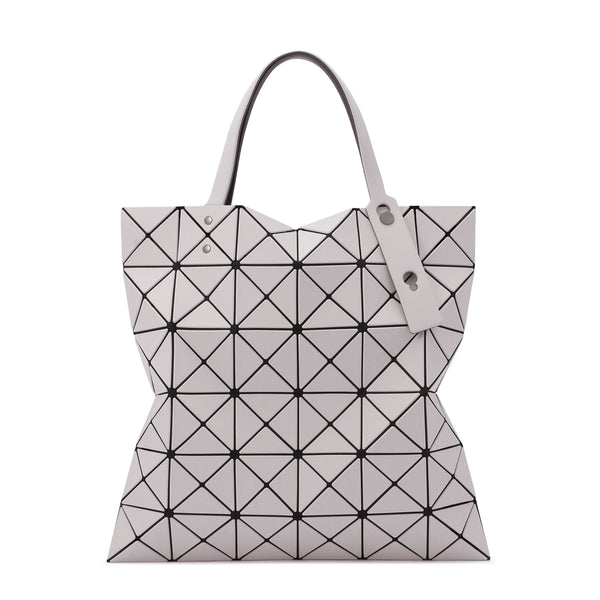 LUCENT W COLOR Tote Light Grey x Grey