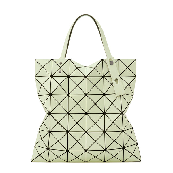 LUCENT W COLOR Tote Light Green x Green