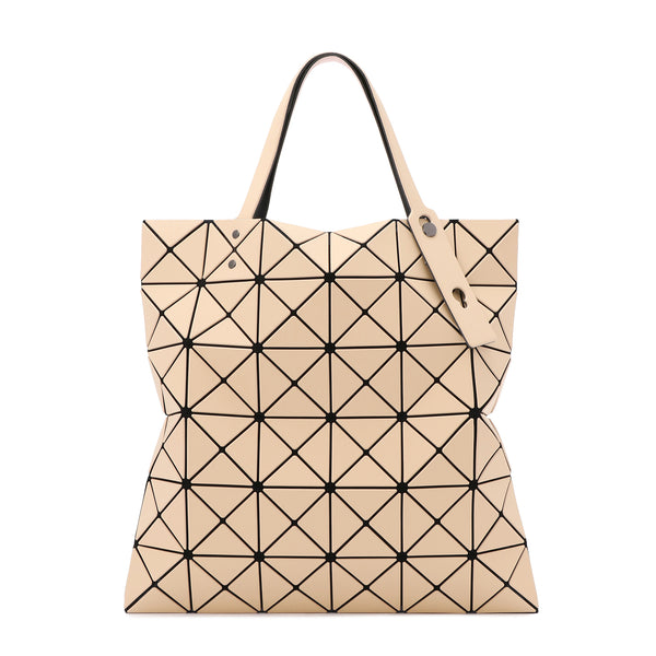 LUCENT W COLOR Tote Light Pink x Beige