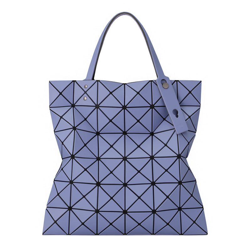 LUCENT W COLOR Tote Purple x Blue