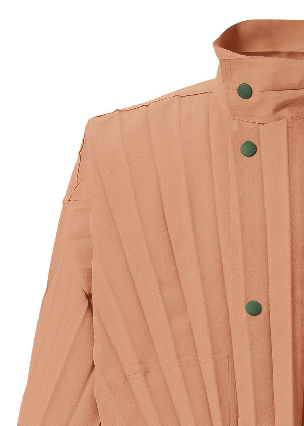 EDGE COAT LIGHT Jacket Terracotta Orange