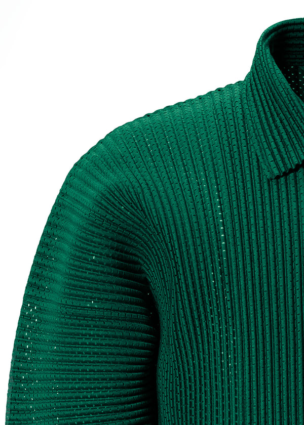 COLORFUL MESH Jacket Green