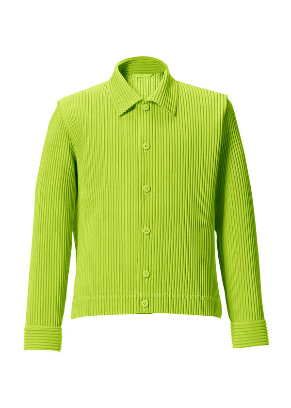 TAILORED PLEATS 1 Jacket Lime Green