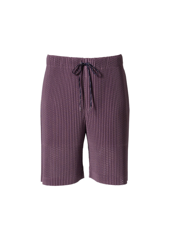 COLORFUL MESH Shorts Purple