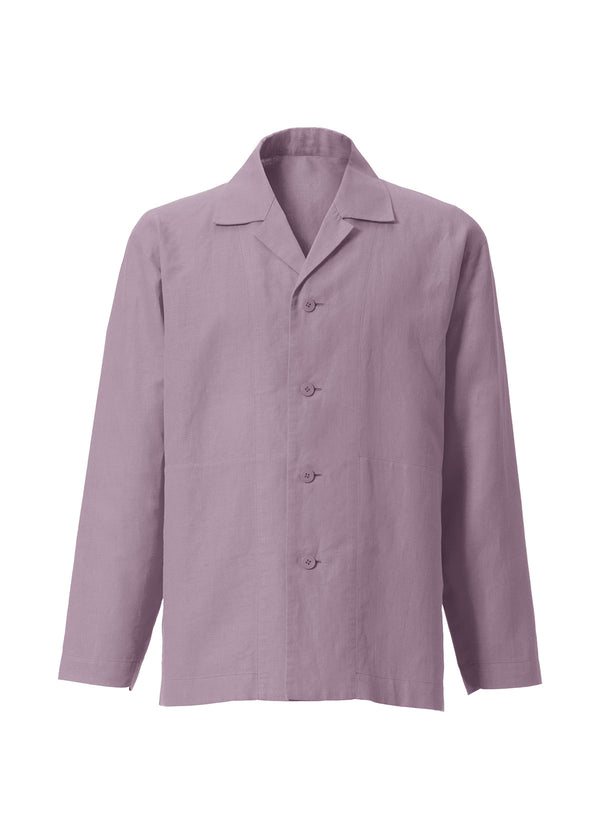COTTON LINEN SHIRT Shirt Light Purple