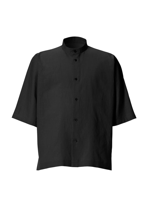 COTTON LINEN SHIRT Shirt Charcoal Grey