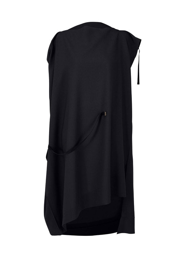 FLAT SQUARE DRESS Dress Black