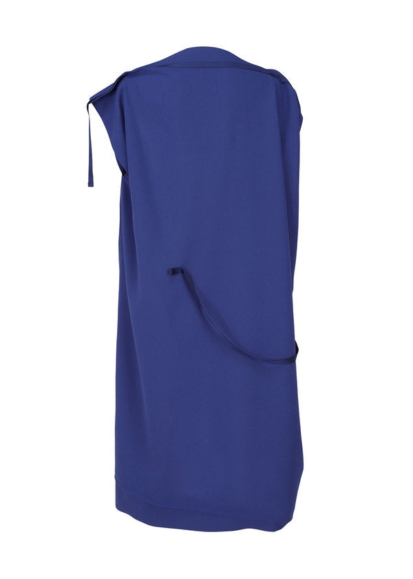 FLAT SQUARE DRESS Dress Blue