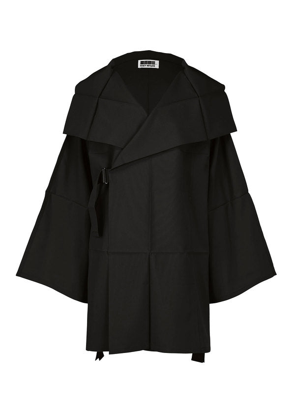 FOLD SQUARE Jacket Black