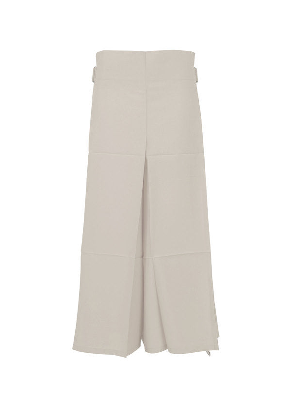 FOLD SQUARE Trousers Greige