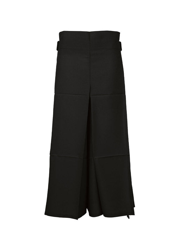 FOLD SQUARE Trousers Black