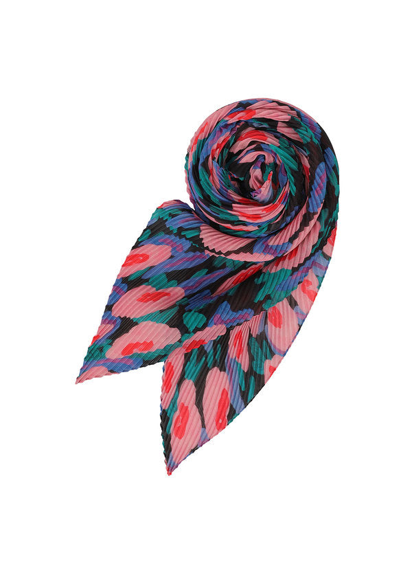 BOTANICAL PLEATS STOLE Stole Pink-Hued