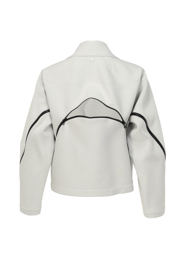 OUT A PIECE Jacket White