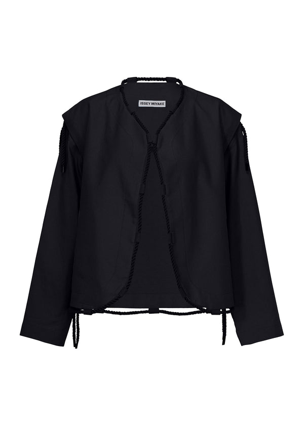 TEMPORARY ROOM SOLID Jacket Black