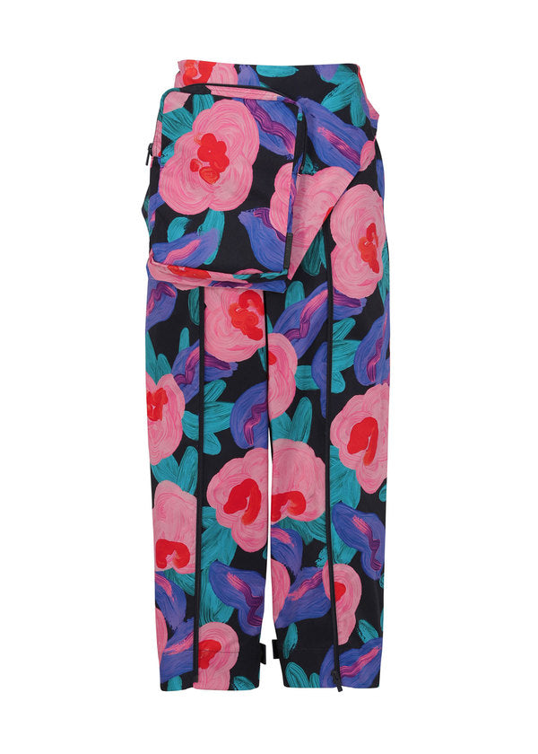 COMPACT BOTANICAL Trousers Pink-Hued