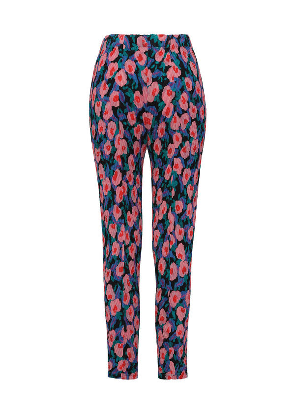 BOTANICAL PLEATS Trousers Pink-Hued