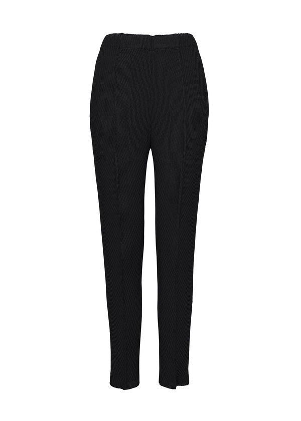 BOTANICAL PLEATS SOLID Trousers Black