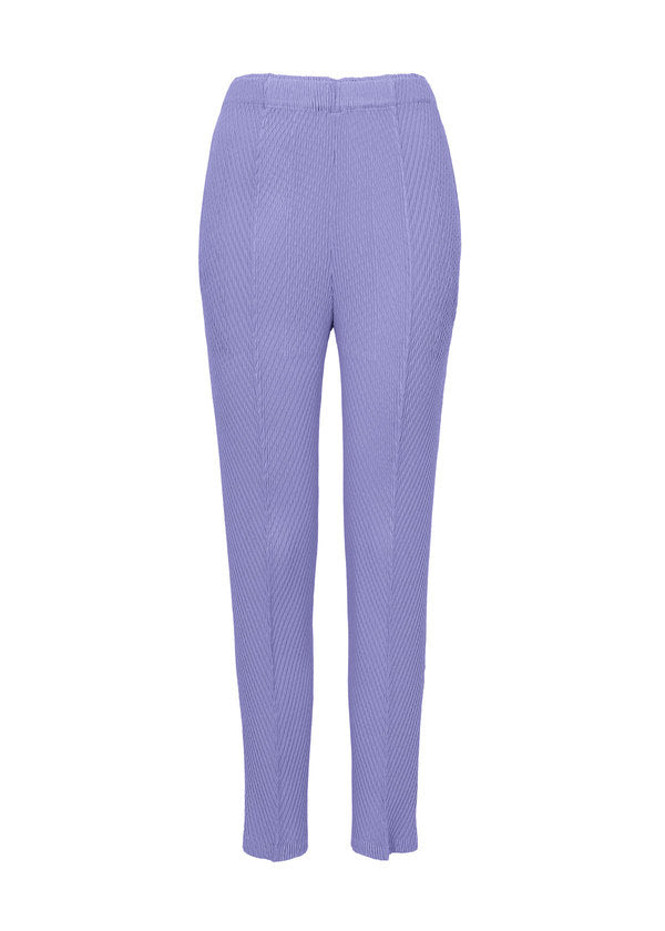 BOTANICAL PLEATS SOLID Trousers Light Blue