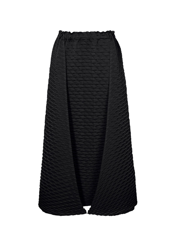 TEMPORARY ROOM PLEATS SOLID Skirt Black