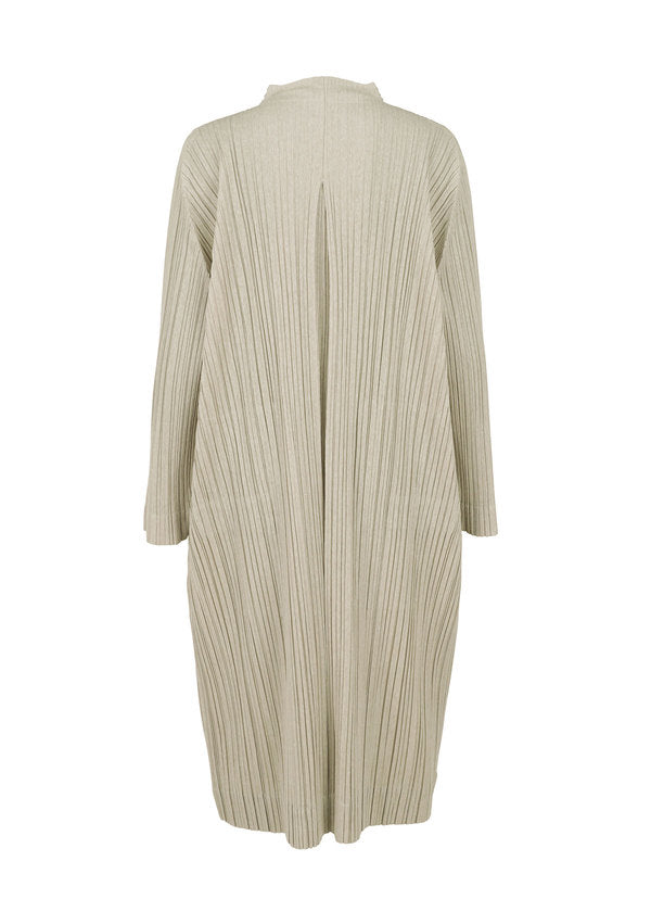 RAMIE PLEATS Coat Beige