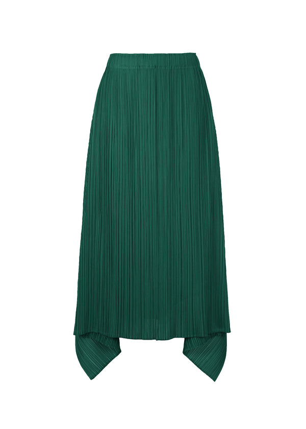 ECHO Skirt Dark Green