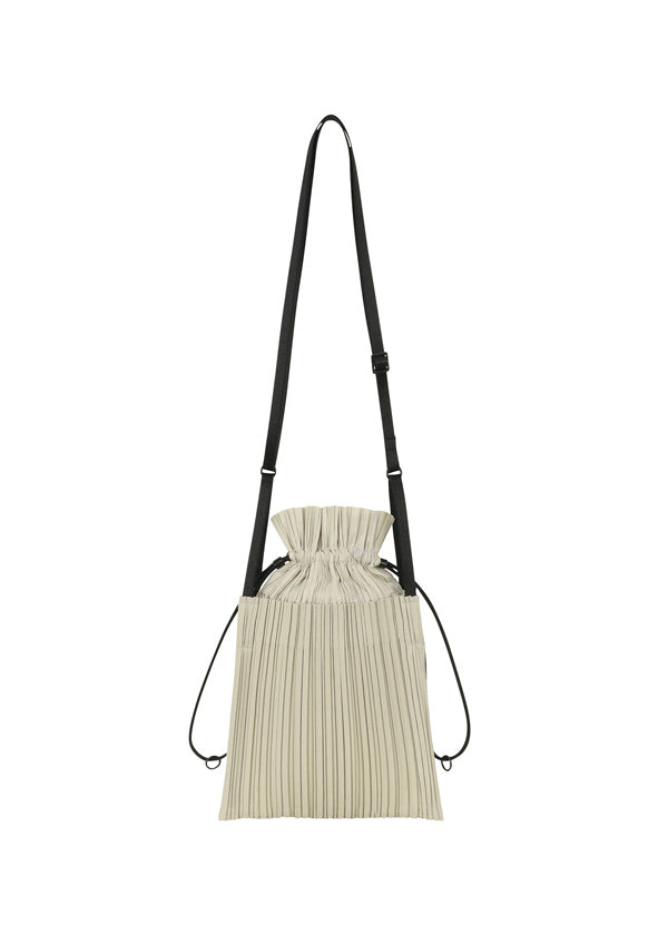 SQUARE PLEATS BAG Bag Ivory