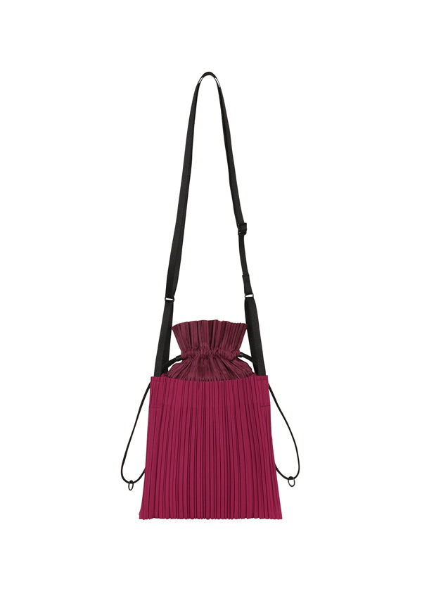 SQUARE PLEATS BAG Bag Carmine