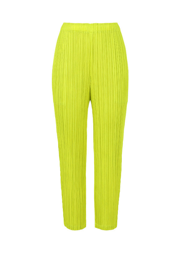 MONTHLY COLORS : FEBRUARY Trousers Lime Green