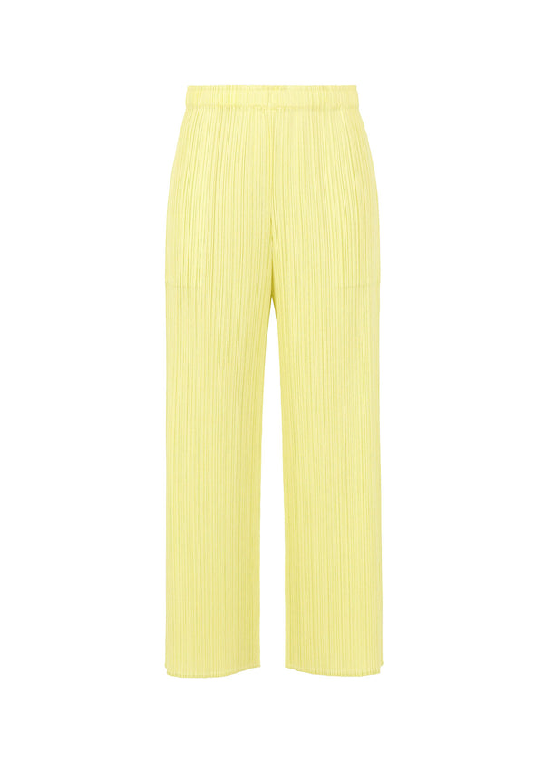 MONTHLY COLORS : APRIL Trousers Baby Yellow