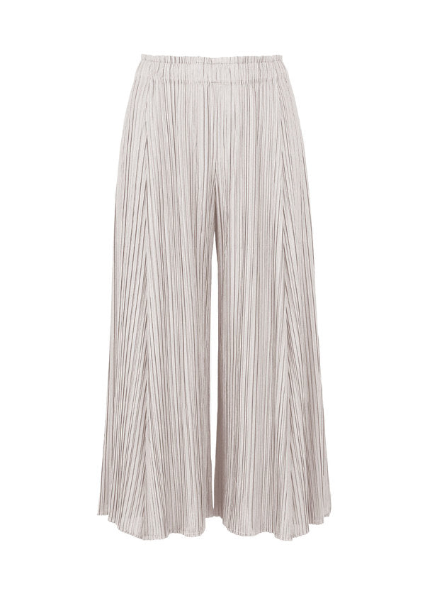 MELLOW PLEATS Trousers Light Beige