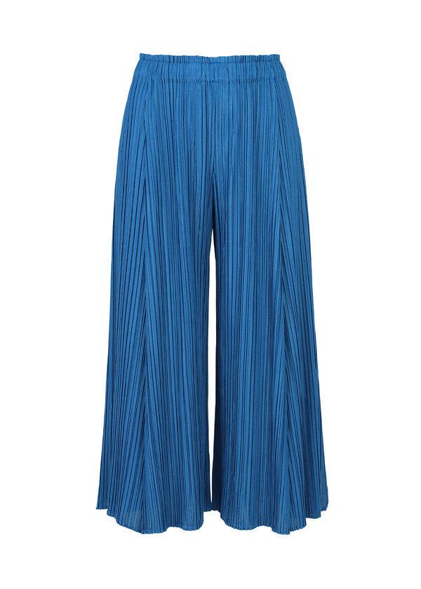 MELLOW PLEATS Trousers Blue