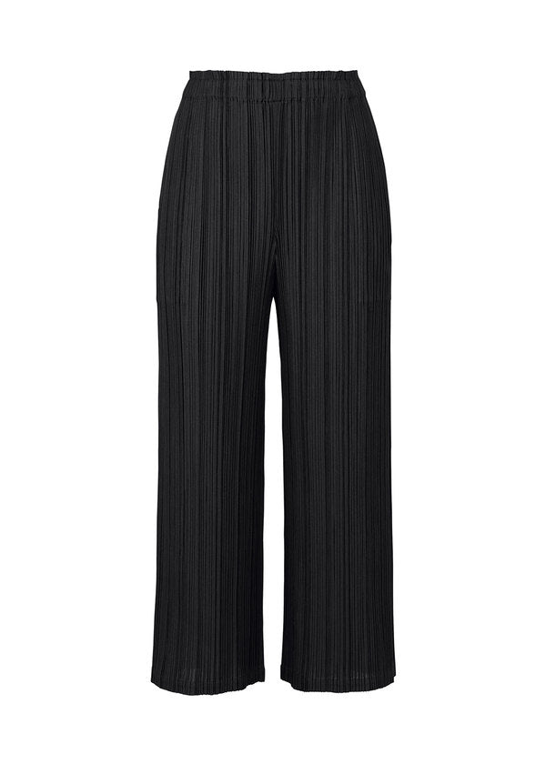 MELLOW PLEATS Trousers Black