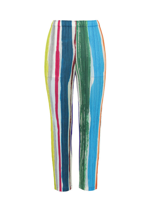 LEAF VEIN Trousers Vivid